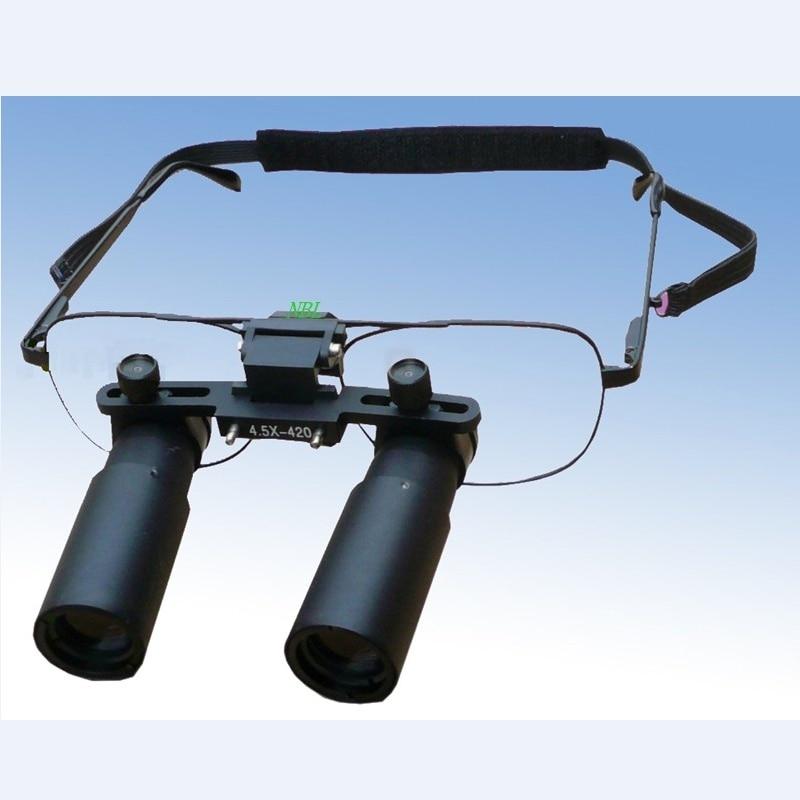 Profesionální lékařská zubní lupa 3X 4X 5X 6X 7X chirurgická binokulární ENT Keplerová optická lupa Mikrochirurgie Zvětšovací brýle
