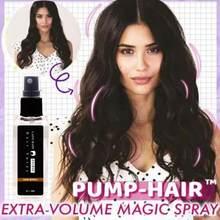 30ml bomba-cabelo extra-volume poderoso spray hairspray estilo do cabelo spray forte cabelo estilo gel contém densa fibras de cabelo spray