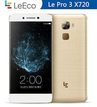 En Stock! Letv – téléphone portable LeEco Le Pro 3 X720, écran de 821 pouces, Smartphone, mémoire de 4GB de RAM et 32 GB/64GB de ROM, Snapdragon 5.5, batterie de 4070mAh, 4G LTE, Google