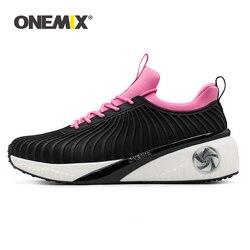 ONEMIX 2020 kobiet Sneakers wysokość zwiększenie 5cm buty do biegania na zewnątrz lampa turystyczna Jogging podróży platformy obuwie