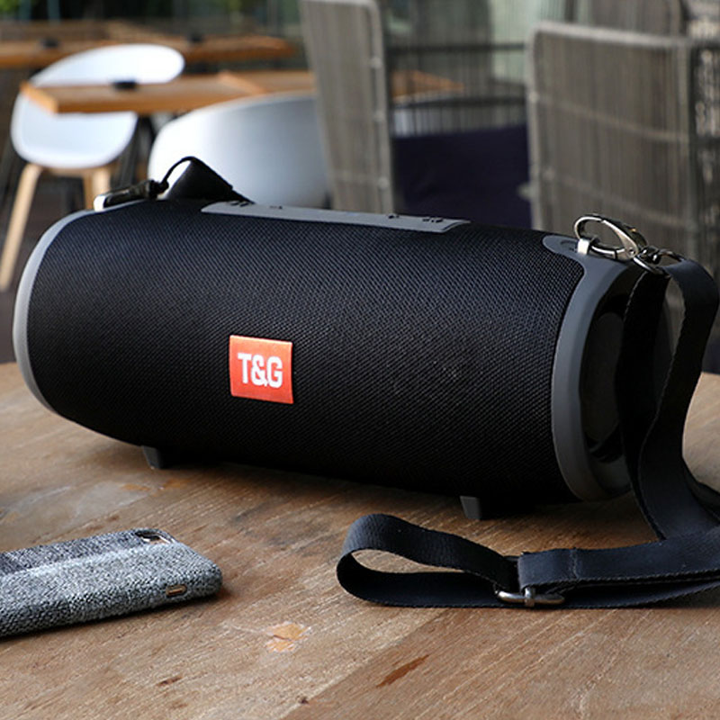 Portable Bluetooth Speaker 20W Stereo Music Subwoofer Outdoor Sound System 3D Wireless Speaker Support TF Card FM Radio Boombox