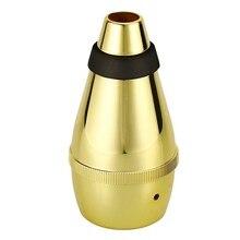 ГОРЯЧАЯ HG-сурдина для трубы для практики(золото