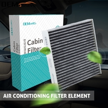Car Accessories Pollen Cabin Air Filter For Honda City Civic X CR-Z Fit 3 4 HR-V Insight 80292-TF0-G01 2010 2011 2012 2013 2014