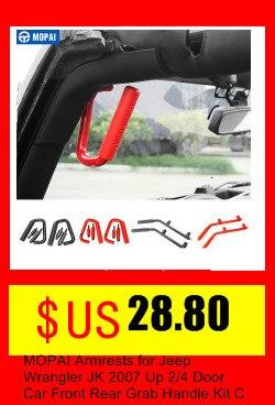 jeep wrangler jk 2011-2017 acessórios do carro