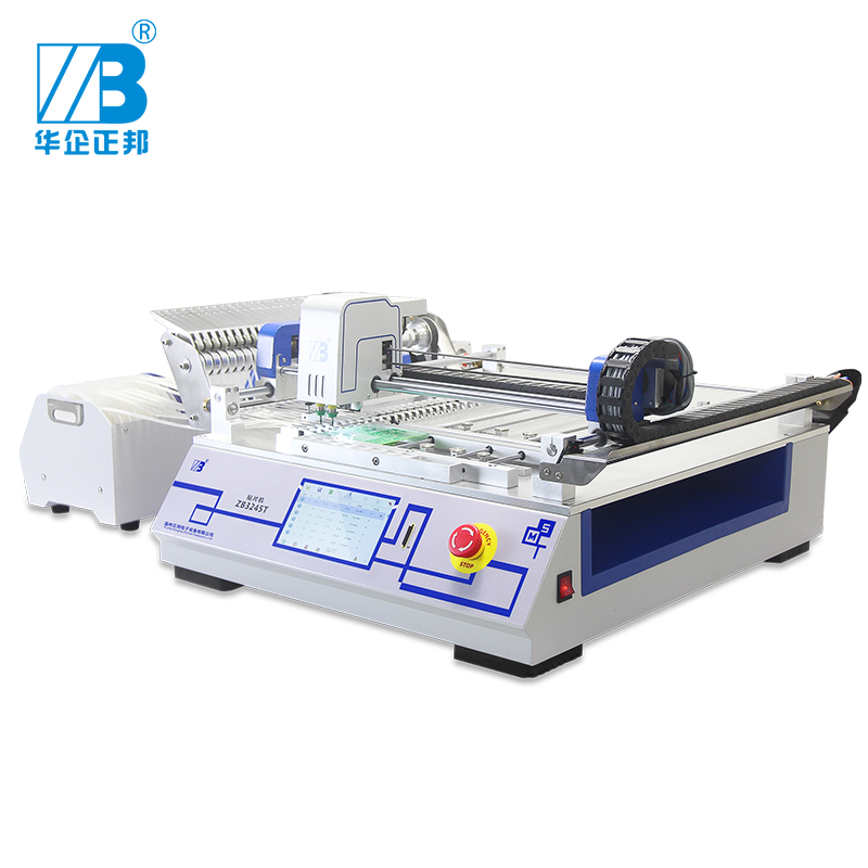 ZB3245T Led Mounter With Embedded HRM System /Desktop Pick And Place Machine