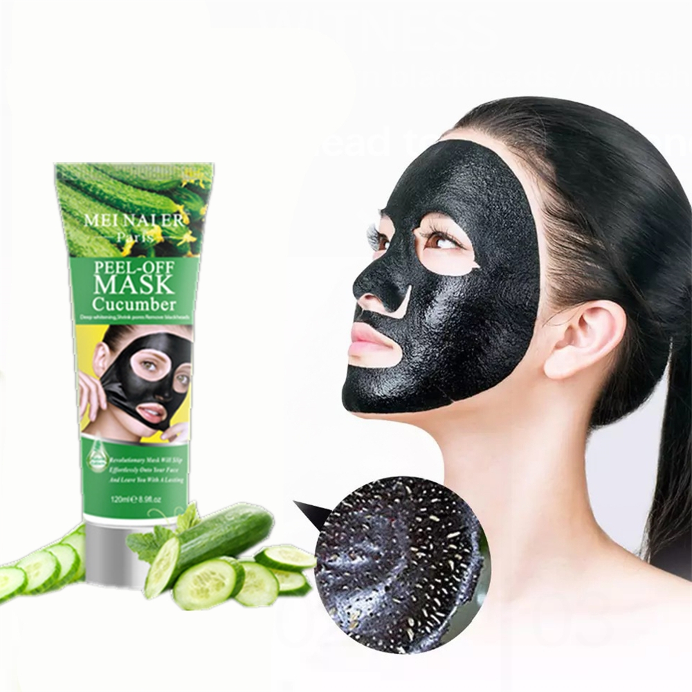Cucumber Bamboo Charcoal Face Mask Moisturizing Oil Control Pores Grease Dirt Cleaning Korean Sheet Facial Mask Cosmetics New