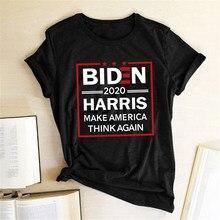 Biden-camisetas con estampado de Harry Potter para mujer, ropa de estética para mujer, moda Harajuku, 2020