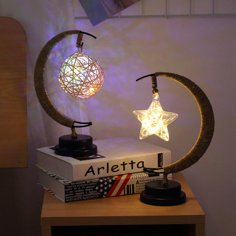 PATIMATEMoon Star LED Light String EID Mubarak Ramadan Decoration Islamic Muslim Party Decor Eid Al Adha Ramadan And Eid Decor