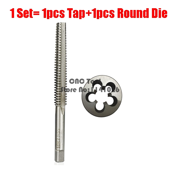 2PCS HSS Right Left Hand Trapezoidal Thread Tap And Die Set TR8 TR10 TR12 TR14 TR16 TR18 TR20 Metric Screw Taps Dies T8 T10 T12