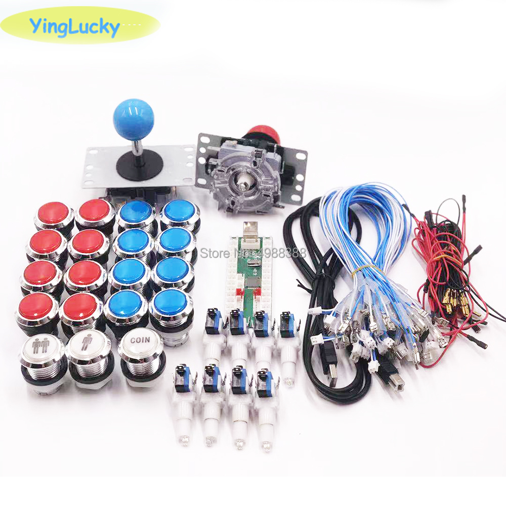 Good quality and cheap arcade joystick diy kits with 2