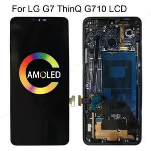 "6.1""ORIGINAL For LG G7 ThinQ LCD Touch Screen Digitizer Assembly For LG G7 Display with Frame Replacement G7+ Lcd Screen"