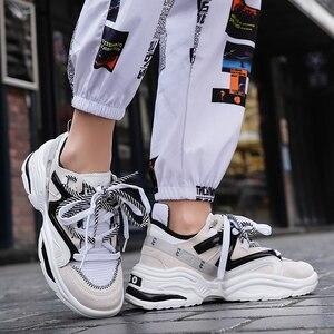 Image 5 - Chaussures de sport Vintage en maille respirante pour homme, confortables et à la mode, automne 2019, chaussures décontractées