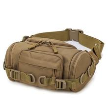 Men Bag Tactical-Bag Army-Fan Travel Hiking Leisure Outdoor Waterproof Riding Wear Pockets