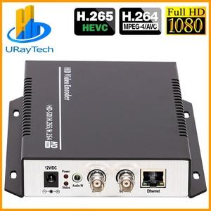 Hevc H.265 H.264 Sd/Hd/3G Sdi Naar Ip Live Streaming Video Audio Encoder Srt, http, Rtsp, Rtmp, Udp, Onvif, Rtmps