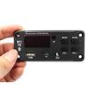 Car MP3 Decoder Audio Board Bluetooth 5.0 DC 12V USB Power Supply WMA WAV FLAC APE Format TF FM Radio MP3 Player Remote Control