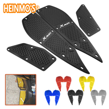 For yamaha xmax 300 1 Set 4 PCS Footrest Pedal Plates x max 300 Motorcycle Scooter Accessories xmax 300 For yamaha Foot Rest Pad