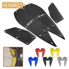 Plaques de pédale de repose pieds, 4 pièces, accessoires de moto x max 300, 1 ensemble, Scooter, accessoires, pour yamaha xmax 300