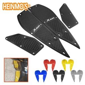 Image 1 - Пластины для ног для yamaha xmax 300 1 комплект 4 шт. подножки x max 300 Аксессуары для мотоцикла скутера xmax 300 для yamaha подставка для ног