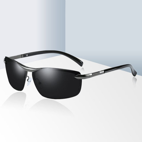 Brand Design Fashion Sunglasses Men Polarized Pilot Chameleon Photochromism Anti Glare Glasses Day Night Driving Male Sunglasses Lahore