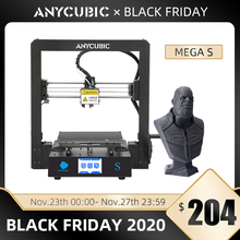 Anycubic 메가 S 3D 프린터 고정밀 터치 스크린 stampante FDM 3d 프린터 키트 Impressora 3d Imprimante Big Size Print