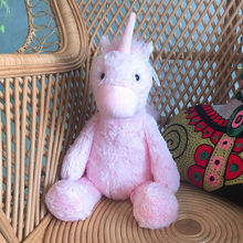 цена New 30cm/40CM Lovely Unicorn Plush Toy Pink Fly horse With Rainbow Wings Baby Kids Appease Doll Birthday Gift For Little Girl онлайн в 2017 году