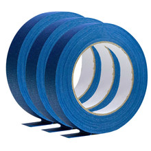 24/48mm*50m Long Blue Masking Tape Good For Car Painting Wall Painting Decoration Of Nail Painting Masking Tape Hot Sale(China)