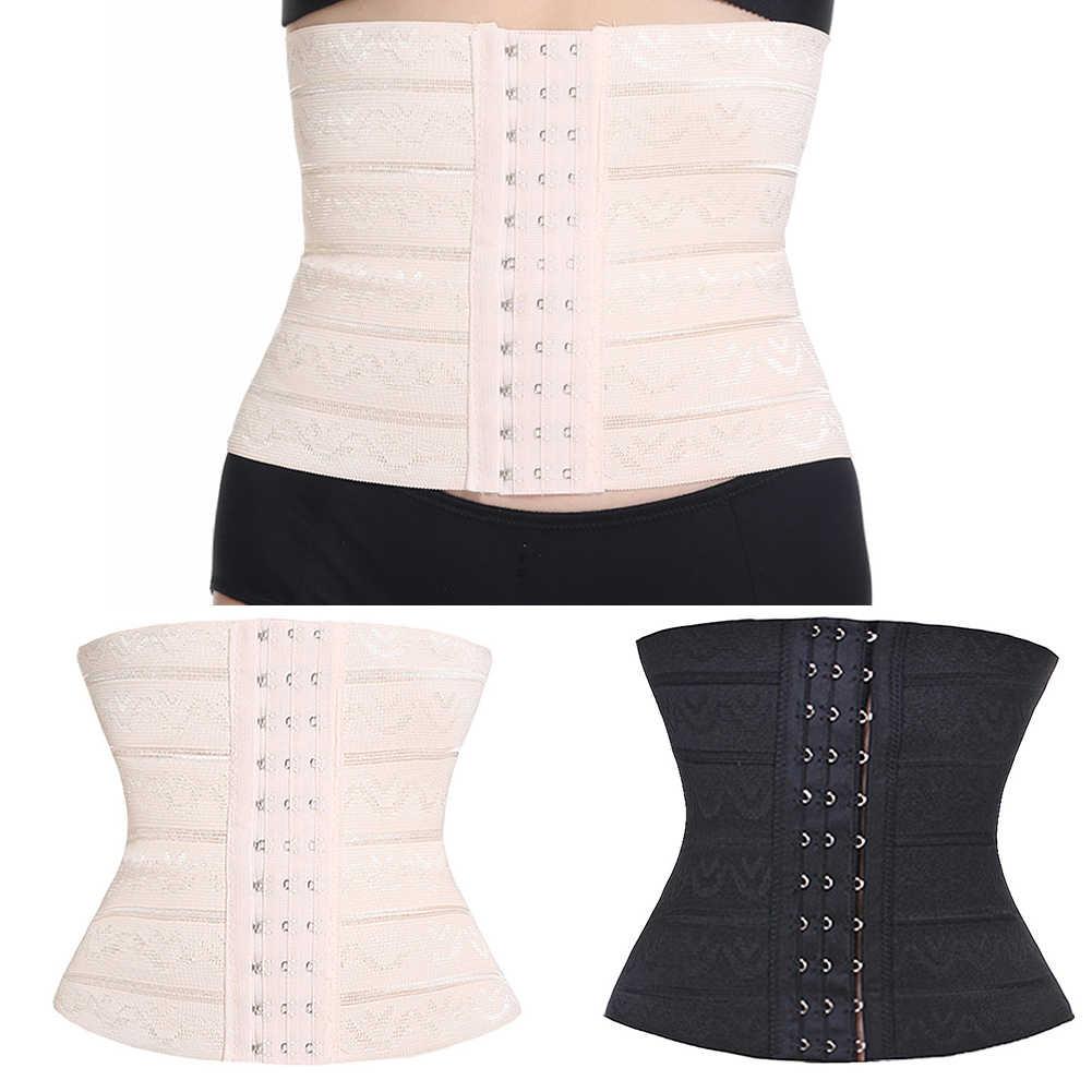 Женский моделирующий резиновый корсет для похудения с корсетом под грудью, многофункциональный регулируемый пояс для упражнений, эластичный 3 однобортные пряжки