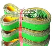 2pcs 2820 x102 x 4mm Nylon Chip Base Band Textile Flat Belt Conveyor Transmission Timing Belt