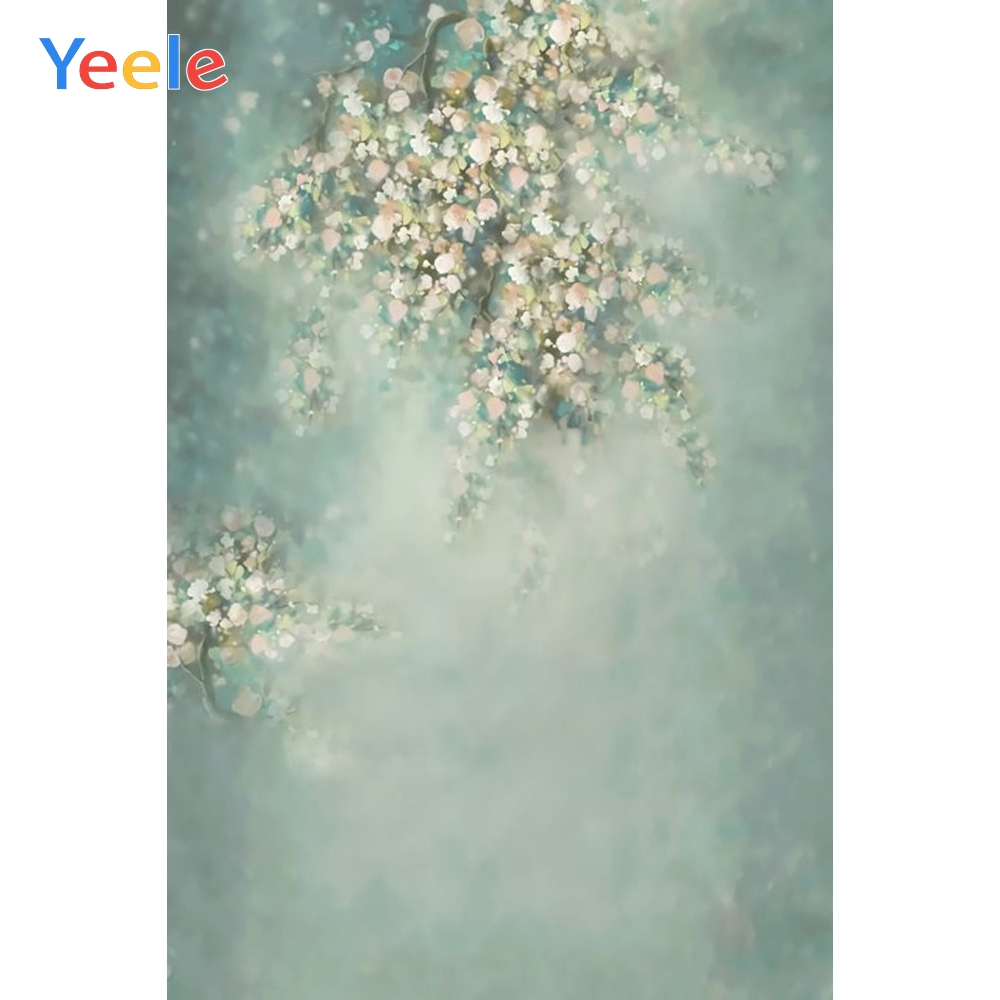 Abstract Gradient Flower Backdrop Newborn Baby Shower Kids Birthday Party Photography Background For Photo Studio Photobooth in Background from Consumer Electronics