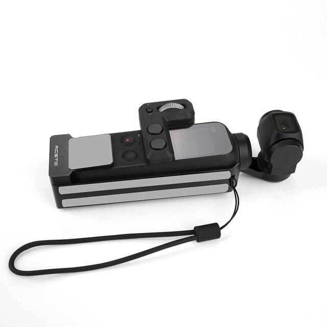 Osmo 포켓 케이스 알루미늄 프레임 포켓 마운트 방열 하우징 쉘 보호 커버 DJI Osmo 포켓 액세서리