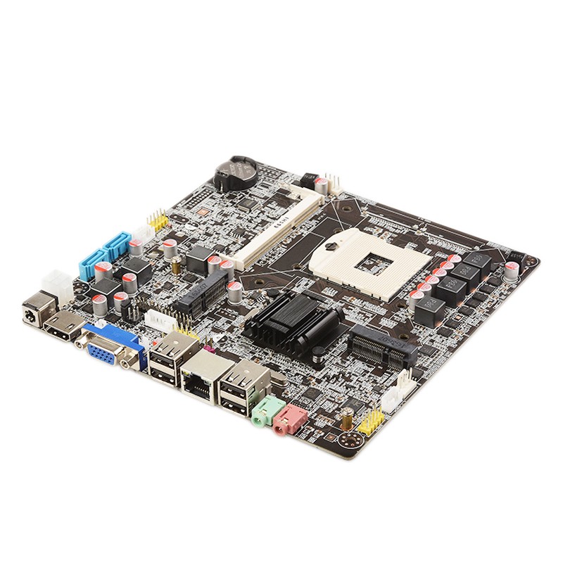 HM65 Chipset Ultra-thin Machine Motherboard I3I5I7 Small Board Notebook CPU Motherboard 17x17