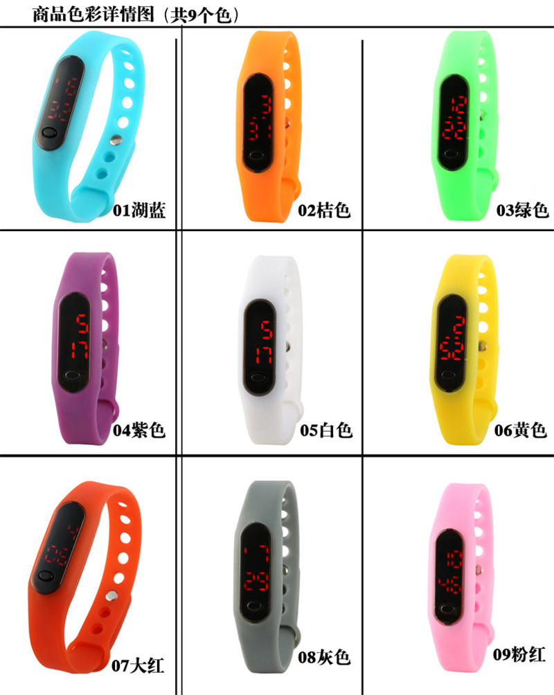 Digital watch led watch men relogio masculino relogio feminino erkek kol saati women sports watches men digital watch