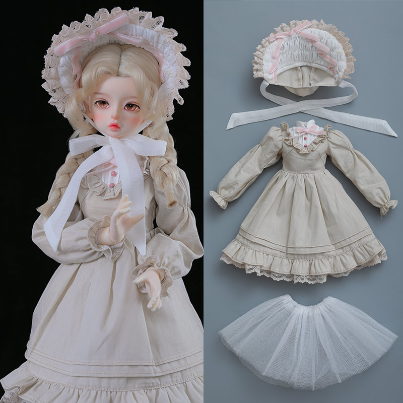 1/4 BJD Clothes Girl body Luts BJD Bory Jeremy Yue Dress Beautiful Doll Outfit Accessories luodoll Oueneifs chinabjd 1