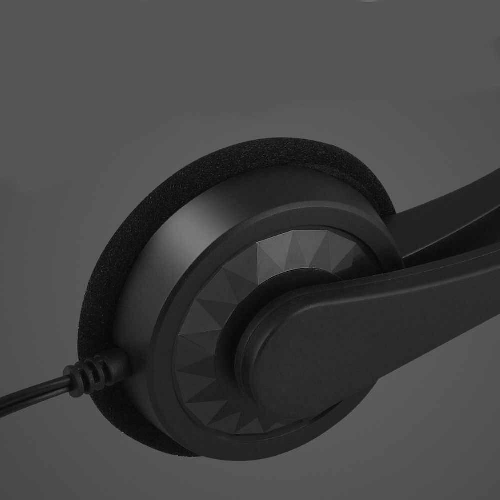 3.5mm Stereo Wired Gaming Cuffie Sopra Le Cuffie Auricolari Con Microfono Per Ps4 Computer Portatile Del Pc Del Telefono Per Il Computer Portatile Del Computer Gamer