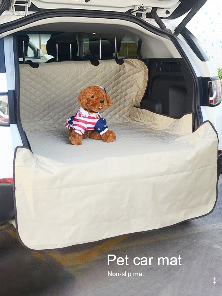 Pet Carriers Cover Organizer Accessories Trunk-Mat Dogs-Protector Waterproof Collapsible