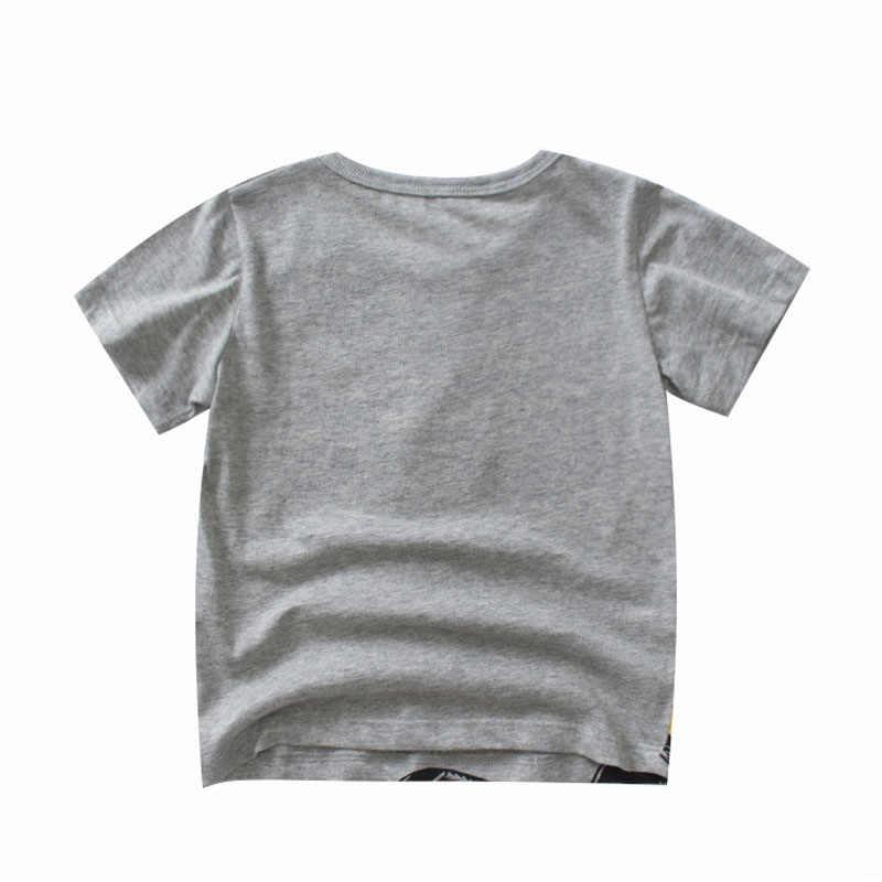 เด็กเสื้อยืดเด็กเสื้อยืดเด็กผู้หญิง 2019 ฤดูร้อนวันเกิด T เสื้อสำหรับชายเสื้อแขนสั้นเสื้อผ้าเด็ก