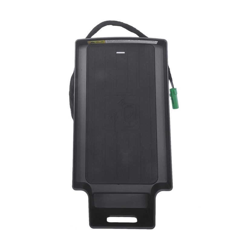 10W Auto Del Telefono Mobile Qi Pad di Ricarica Wireless Modulo Console Storage Box per Audi Q3 2013 2019 Auto accessori - 4