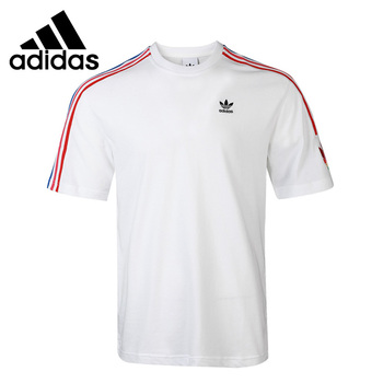 Original New Arrival Adidas Originals 3D TF 3 STRP T  Men's T-shirts short sleeve Sportswear original new arrival official adidas men s windproof jacket hooded sportswear