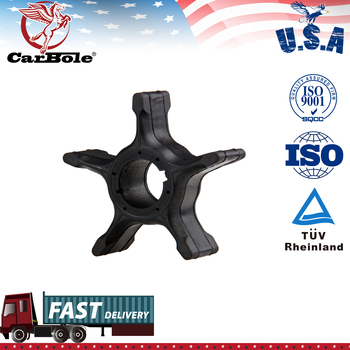 Water Pump Impeller For Suzuki 90-200HP DF90/100/115/140/150 Outboard Motor Black Rubber 6 Blades Boat Engine Parts yto ytr3105t51s ytr2105 engine parts for tractor the water pump part number