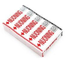 100 pçs marca bandana aid curativos remendos estéril hemostasia adesivo de primeiros socorros bandagem calcanhar almofada emplastro adesivo cor aleatória