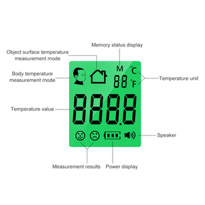 Image 5 - Cofoe Non contact body Thermometer Forehead Digital Infrared Thermometer Portable Non contact Termometro Baby/Adult Temperature