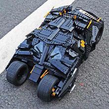Dhl 07060 (87041) バットマンの映画バット戦車組立ビルディングブロックモデル少年と互換性 76023