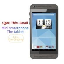 4.3 calowy Mini Tablet PC wielodotykowy ekran pojemnościowy dwurdzeniowy 512 RAM + 8G ROM Andorid 4.4 WIFI podwójny aparat MP3 obsługa karty TF