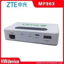 Zte mf903 desbloqueado 4g lte wifi roteador suporte lte 4g hotspot com porta lan + 5200mah