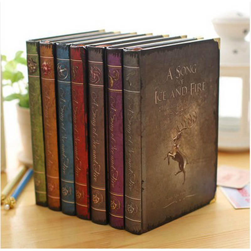 2019 Game of Thrones Planner Notebook A Song of Ice and Fire A5 Size Stationery Office