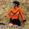 Kafitt feminino triathlon profissional, ciclismo bodysuit, roupa de ciclismo feminino, macacão feminino de uma peça, moletom pro 8