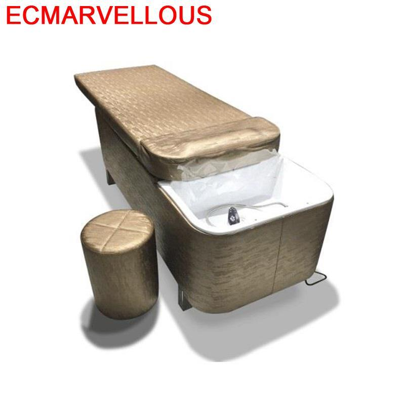 Cabeleireiro Makeup De Belleza Bed For Beauty Lavacabezas Silla Peluqueria Hair Furniture Salon Cadeira Maquiagem Shampoo Chair