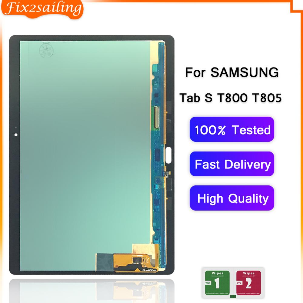 For Samsung Galaxy Tab S T800 T805 LCD Display Touch Screen Digitizer Assemble For Samsung T800 T805 SM-T800 SM-T805 T807 LCD
