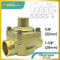 Поршневой Обратный клапан со встроенным демпфирующим поршнем  который делает клапан подходящим для установки в линии  где может произойти ...