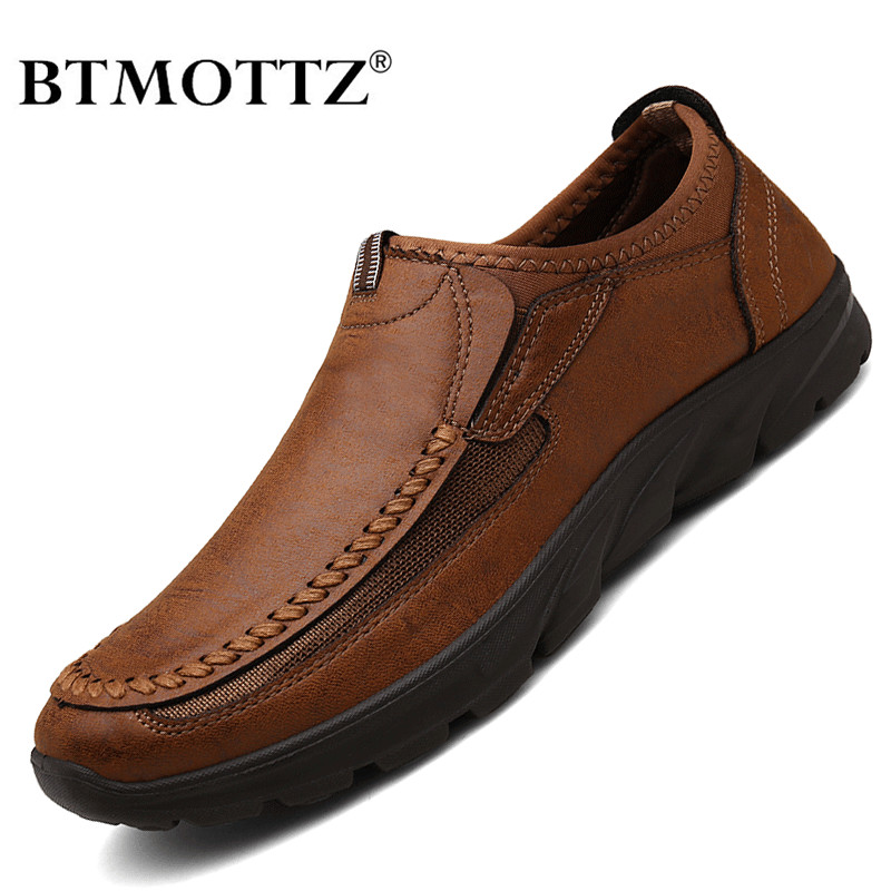 Men Casual Shoes Brand 2020 Fashion Mens Loafers Moccasins Breathable Slip On Retro Driving Shoes Men Sneakers Plus Size 39-48